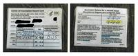 ワクチン証明偽造で男逮捕、米加州、1枚2千円