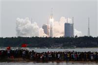 米軍も中国ロケットの再突入確認