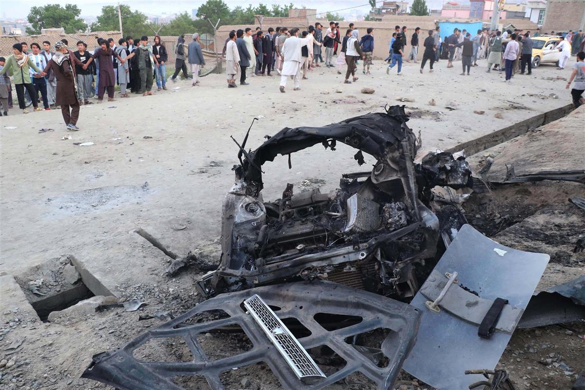 アフガンの学校で爆発 女子生徒ら55人死亡 治安悪化歯止めか…