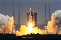 中国ロケット、大気圏再突入しインド洋に落下