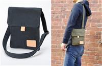 昔ながらの「アーミーダック」生地を再現した日本製バッグ