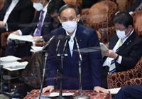 首相、補正予算編成を否定「予備費で対応できる」