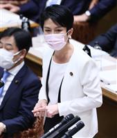 首相vs立民・蓮舫氏 東京五輪開催めぐり攻防 参院予算委