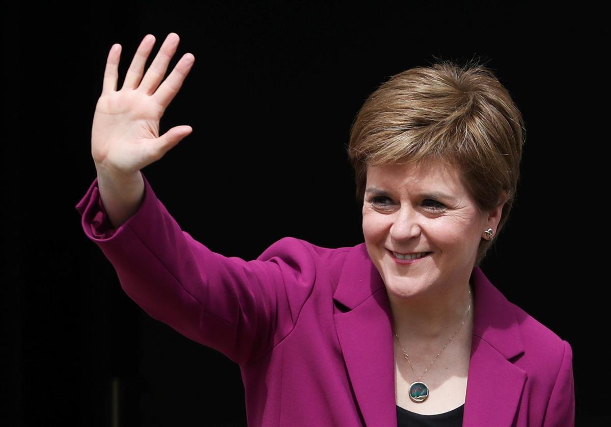 英首相に住民投票実施迫る スコットランド独立派党首