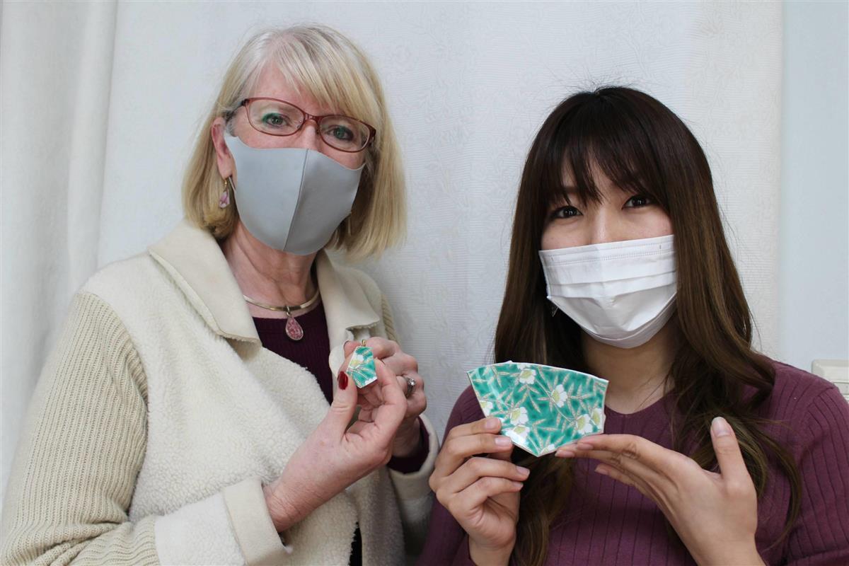 【東日本大震災10年】震災で壊れた陶器をアクセサリーに 宮城…