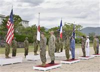 仏陸軍、初めて日本で陸上演習 陸自、米海兵隊と共同訓練開始 中国の海洋進出を警戒