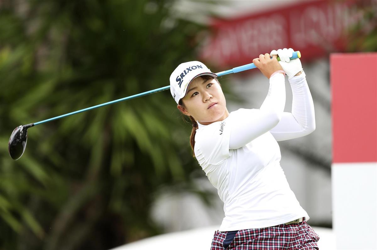 畑岡10位 古江25位、渋野26位 女子ゴルフ世界ランキング