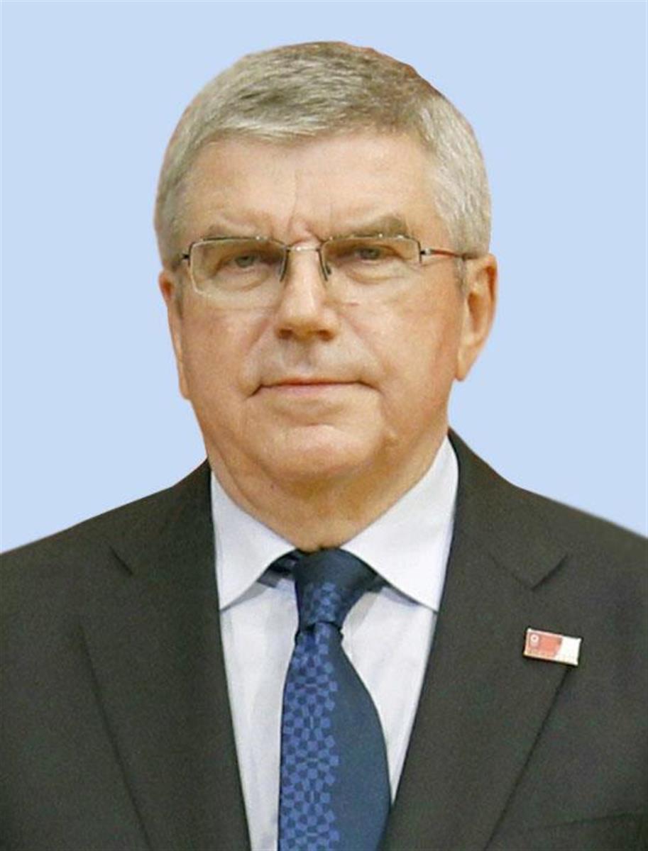 バッハIOC会長「安全な東京五輪を開催」 WHO協力に感謝