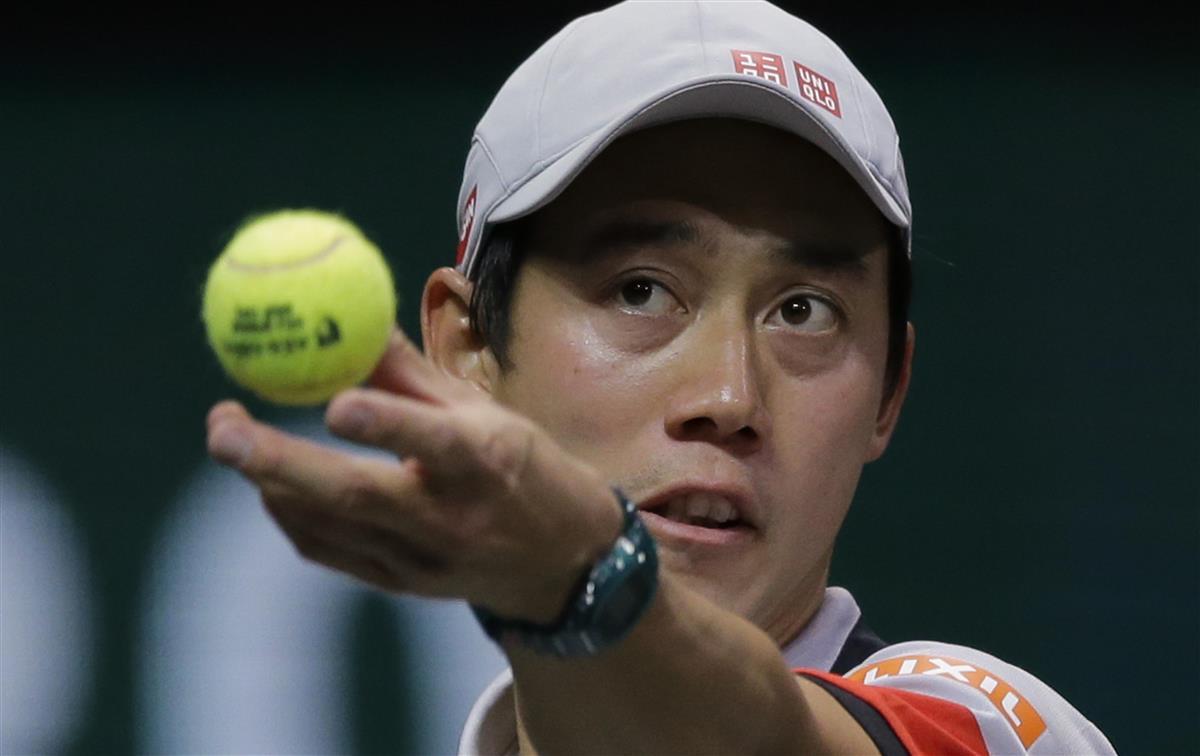 錦織、不戦勝で3回戦へ イタリア国際テニス