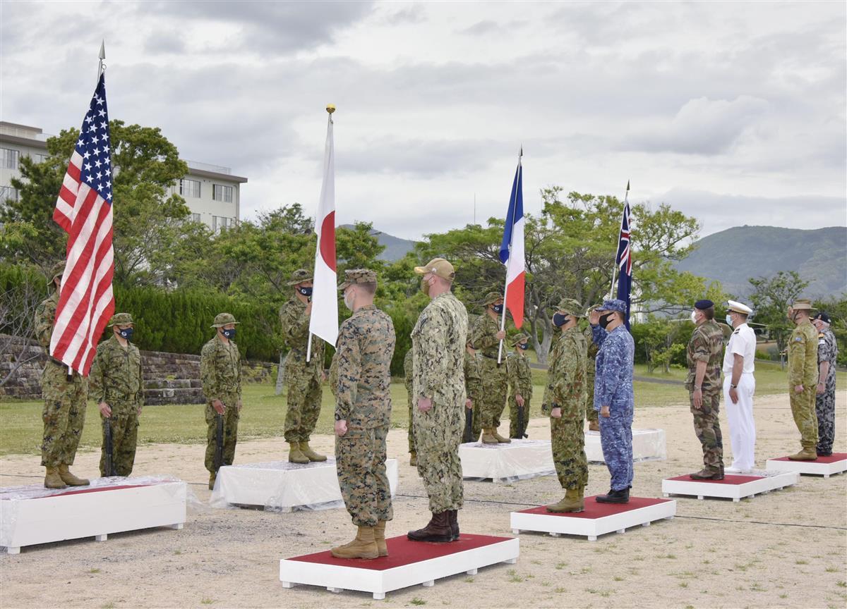 仏陸軍、初めて日本で陸上演習 陸自、米海兵隊と共同訓練開始 …