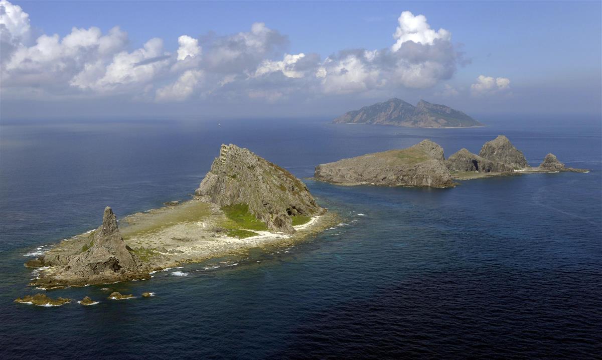 尖閣周辺に中国船 89日連続
