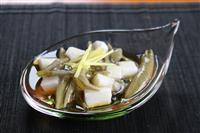 【料理と酒】秋田県名産 じゅんさいと長芋の酢の物