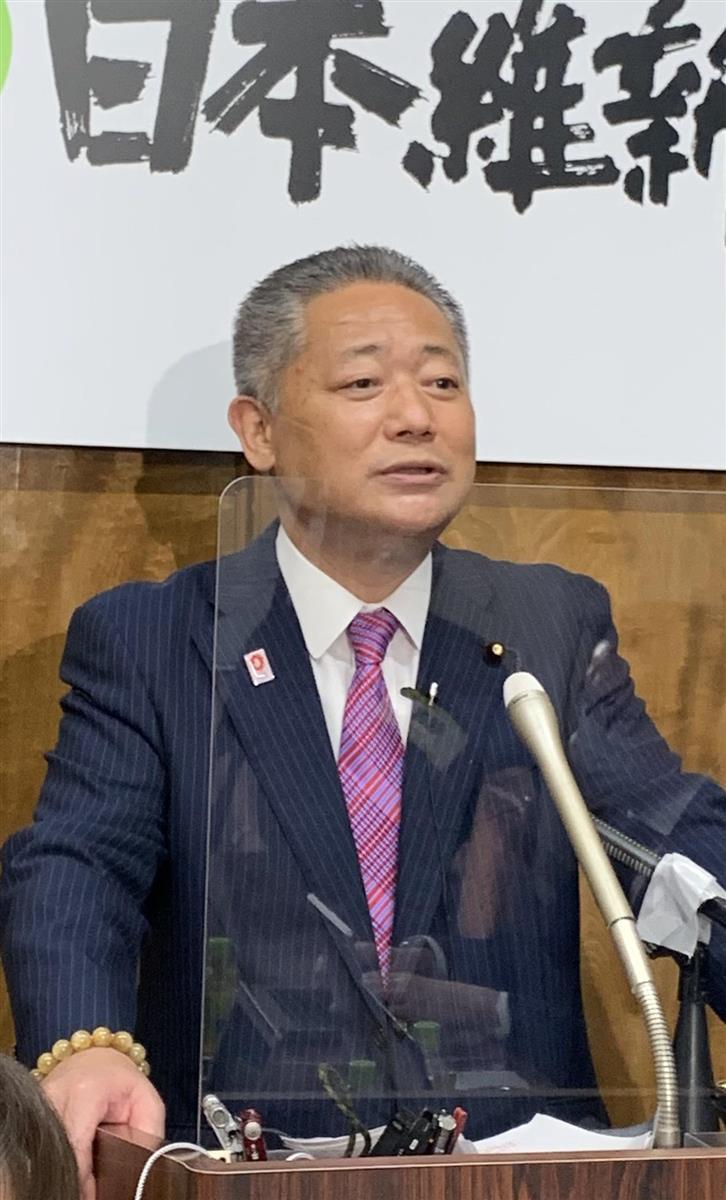 維新・馬場氏 大阪知事批判の立民・枝野氏に「あなたの政党が一…
