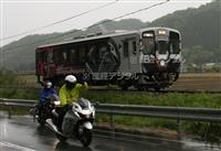 聖地はレトロ駅舎 スズキ「隼」ライダーが集うローカル鉄道