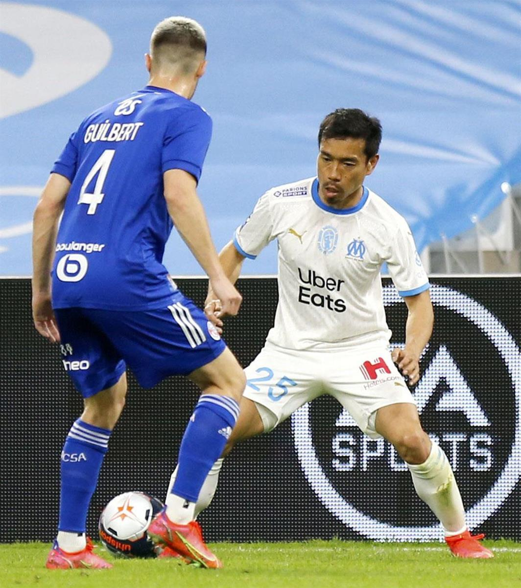 長友佑都がマルセイユ退団へ、地元紙報道 サッカーのフランス1…