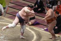 大相撲夏場所4日目で全勝は早くも照富のみ 4大関白星、朝山は五分
