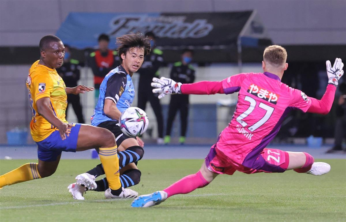 サッカーJ1、川崎ドローも21戦無敗 広島と鹿島は勝利