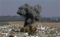 イスラエルにハマスがロケット弾130発 1人死亡