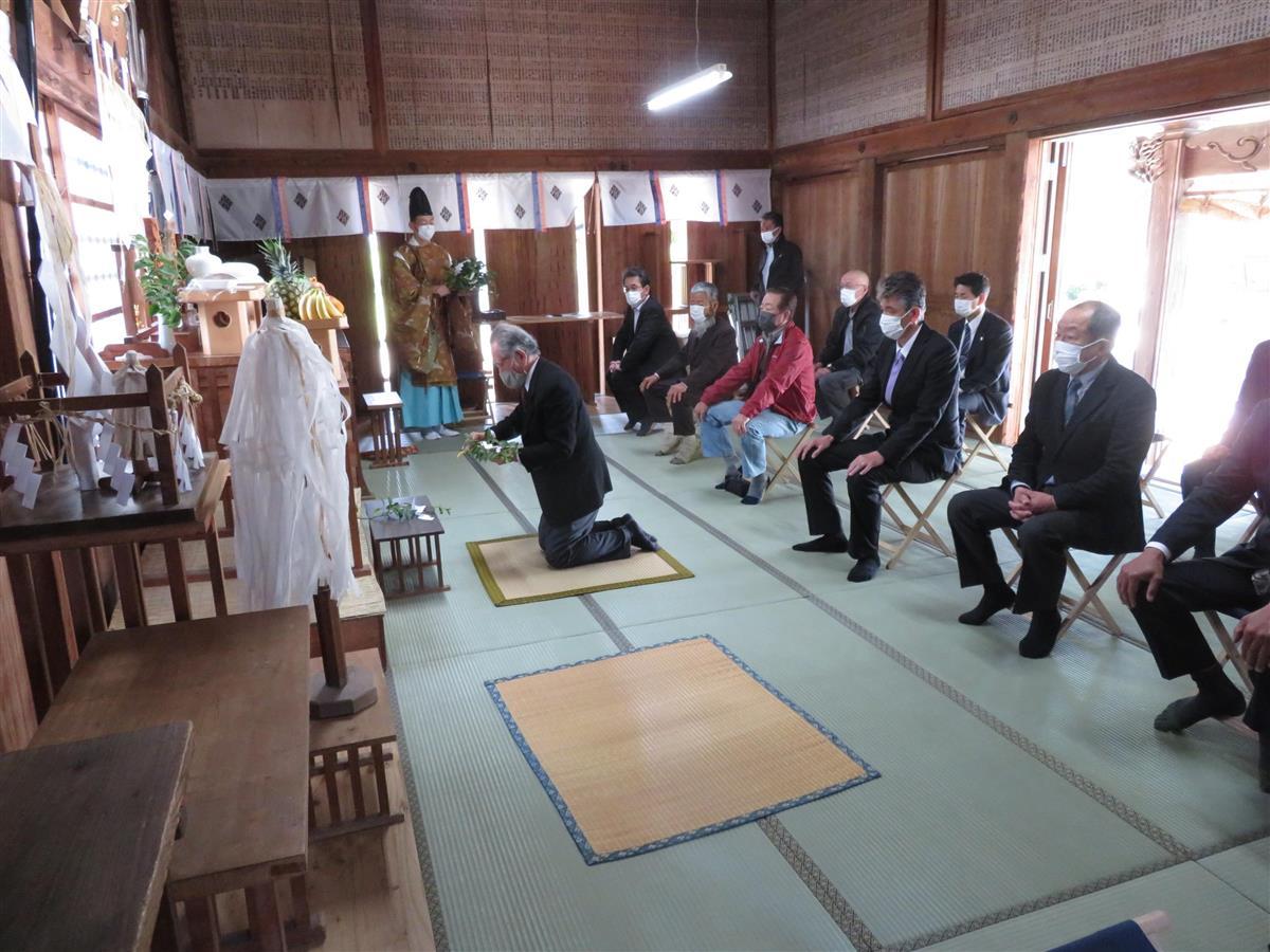 江戸時代、命懸けで導水した5庄屋の業績しのぶ 福岡・うきは市