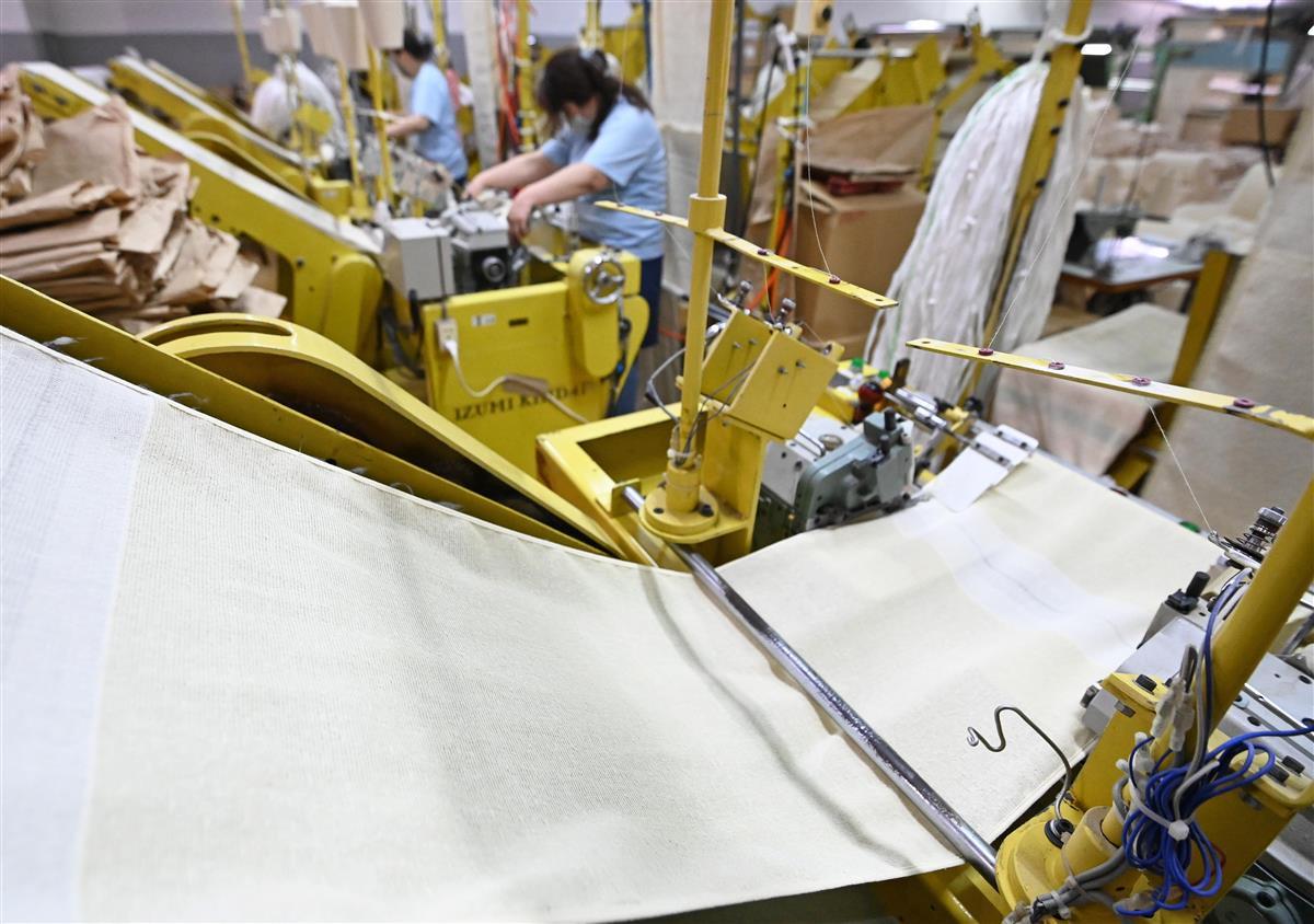 輸入品に負けるな 国産タオル、環境に優しいものづくりへの挑戦