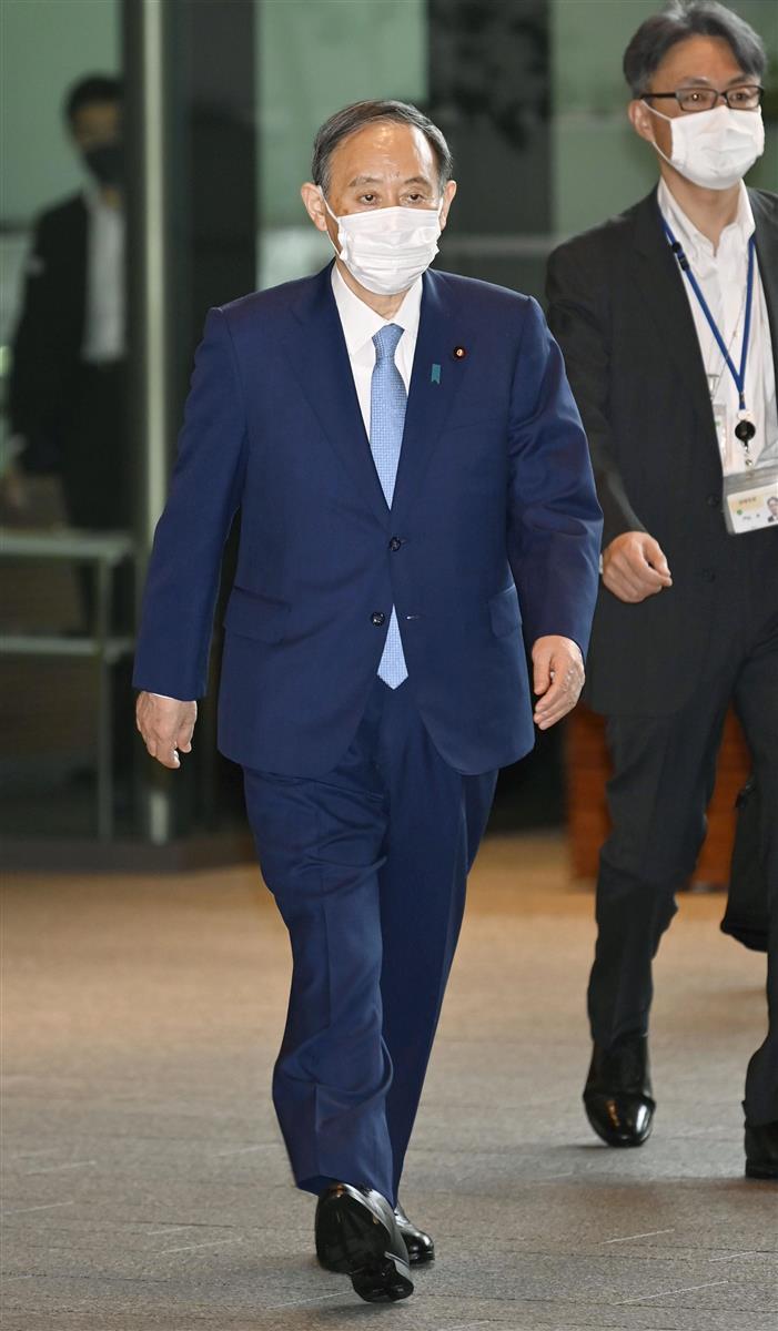 首相「ワクチン早くやって五輪を目指す」 森田前千葉知事に意欲
