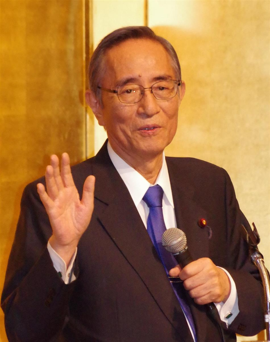 自民・細田元幹事長「五輪パラできないと喪失感大きい」