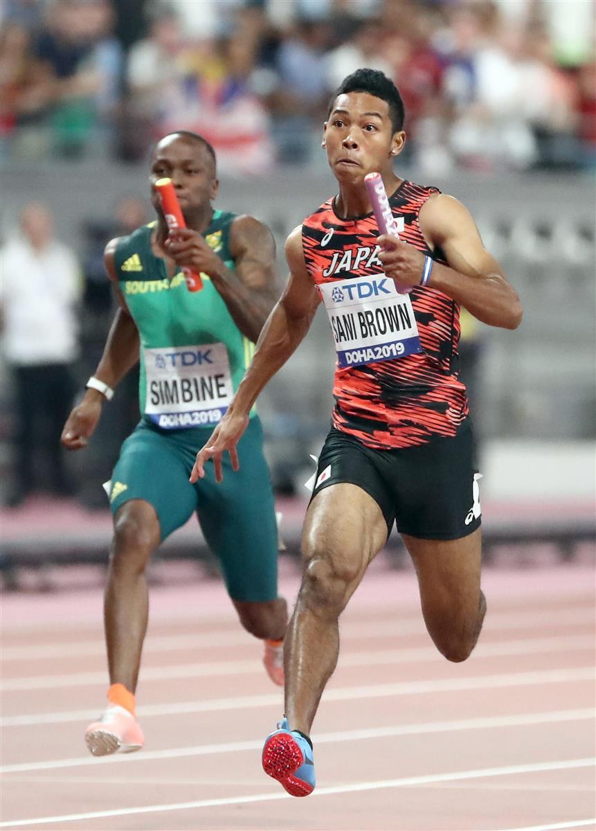サニブラウンが15日に初戦 男子百メートル日本記録保持者