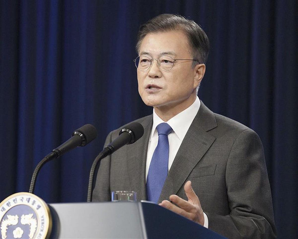韓国閣僚候補、不祥事で異例の就任辞退 文大統領の人事強行に与…