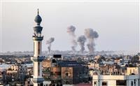 ガザ境界にイスラエル部隊 地上侵攻の可能性強まる 死者90人超に