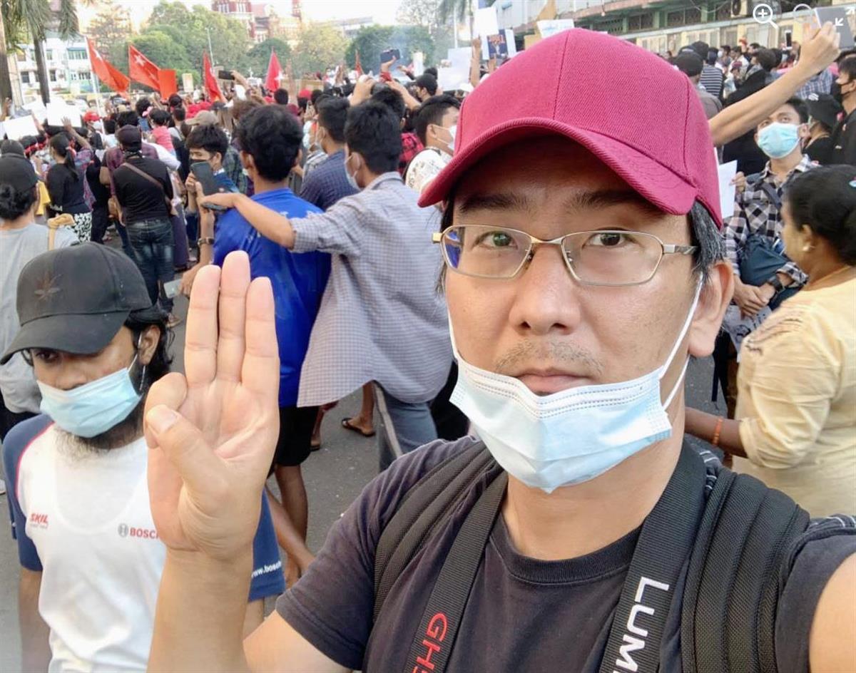ミャンマー邦人記者解放へ 国営テレビ報道「日本との友好関係考…