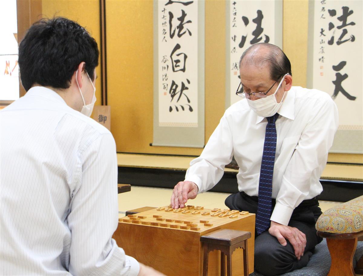 将棋界最年長の桐山九段が勝利、現役続行