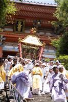 紀州東照宮「和歌祭」の神輿おろしと渡御行列、秋に延期