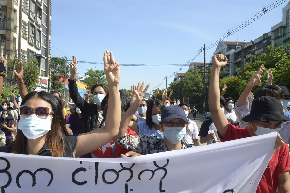 政府、ミャンマー住民への食糧支援などに2250万ドル拠出