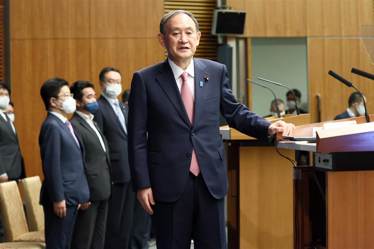 【菅首相記者会見詳報】(2)「五輪開催にさまざまな声は承知し…