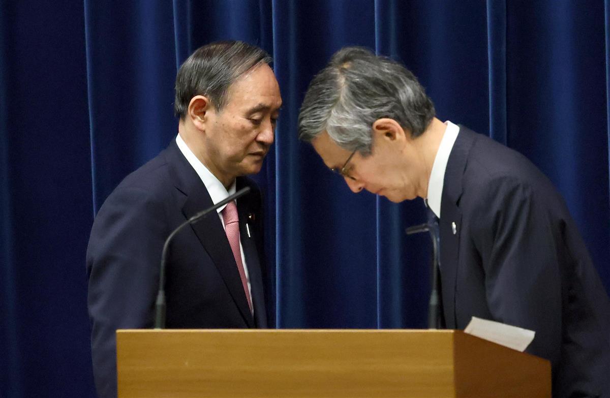 【菅首相記者会見詳報】(6=完)「北海道は蔓延防止でとの見解を持っていたのは事実」