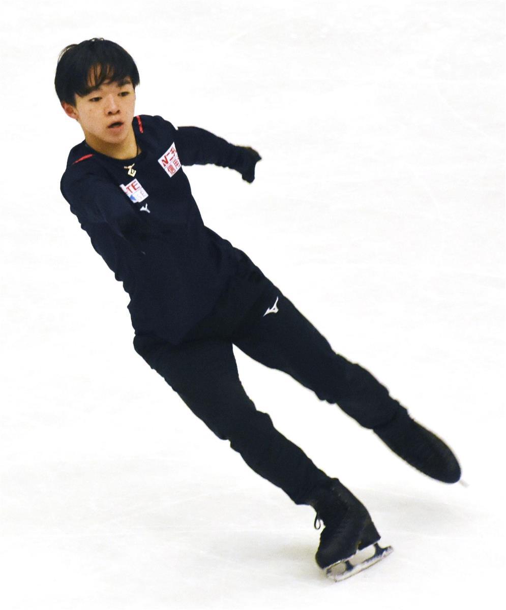 フィギュアの鍵山が最優秀 記者クラブスケート分科会