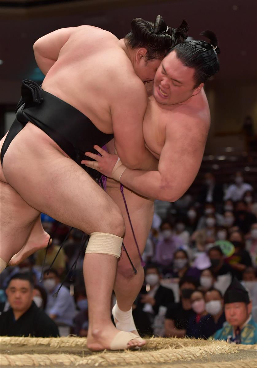 朝乃山、早くも3敗「なかなか自分の相撲が取れない」 夏場所