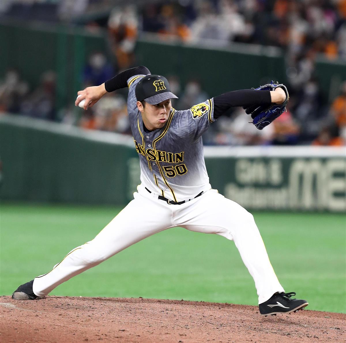 巨1-2神 阪神が4連勝