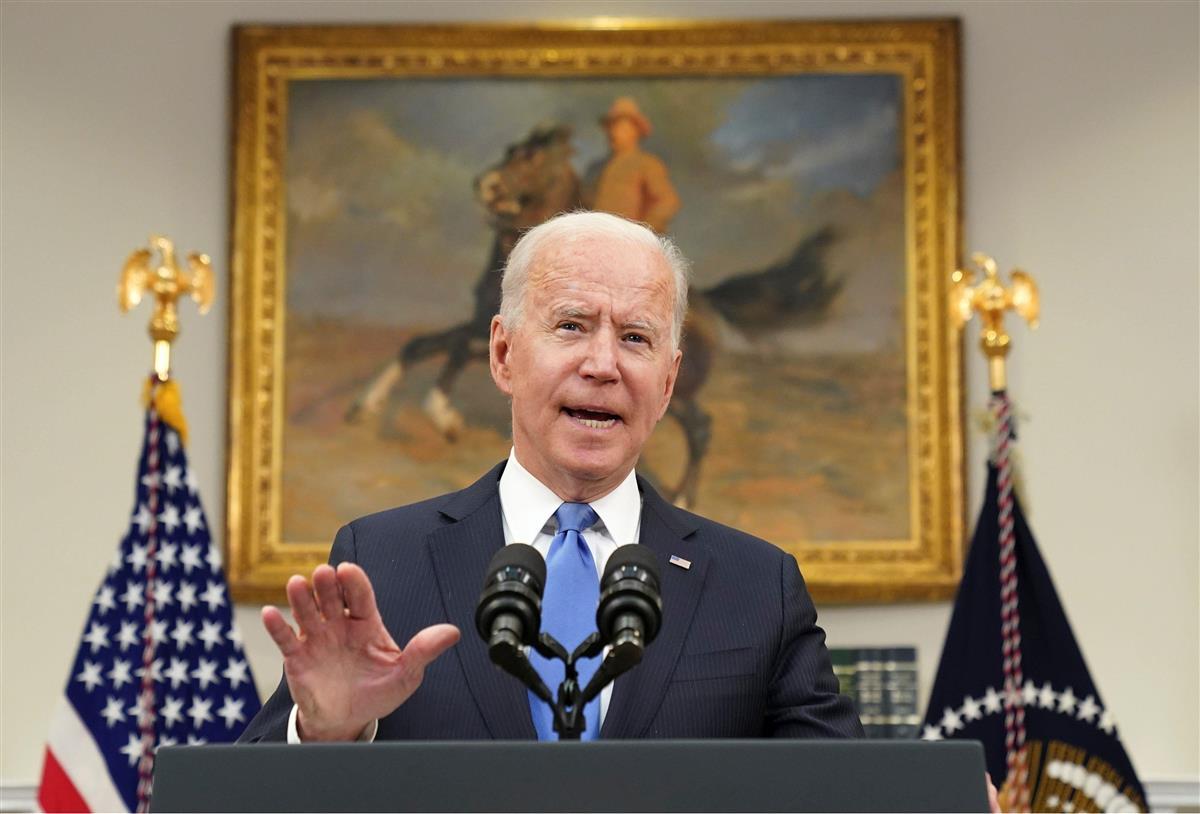 米油送管サイバー攻撃、発信元の露に対抗措置 バイデン大統領が…