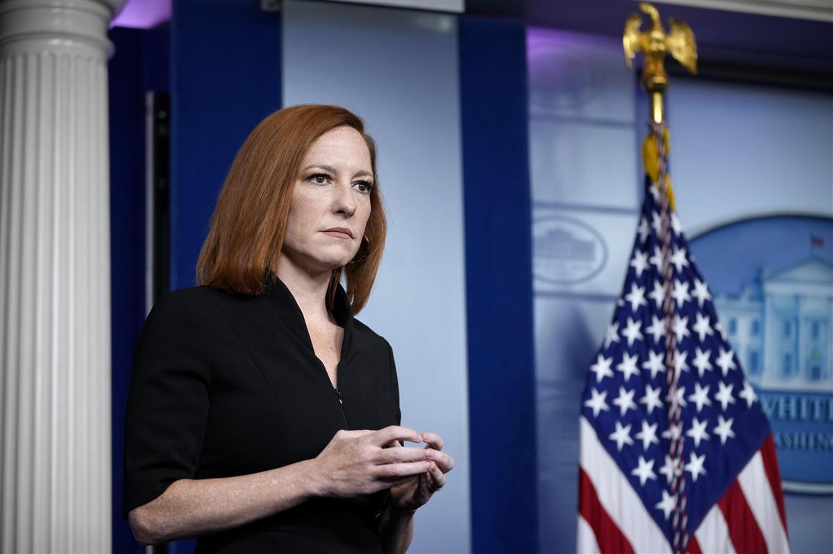 米政権、マスクなし拡大 報道官も非着用で会見場に