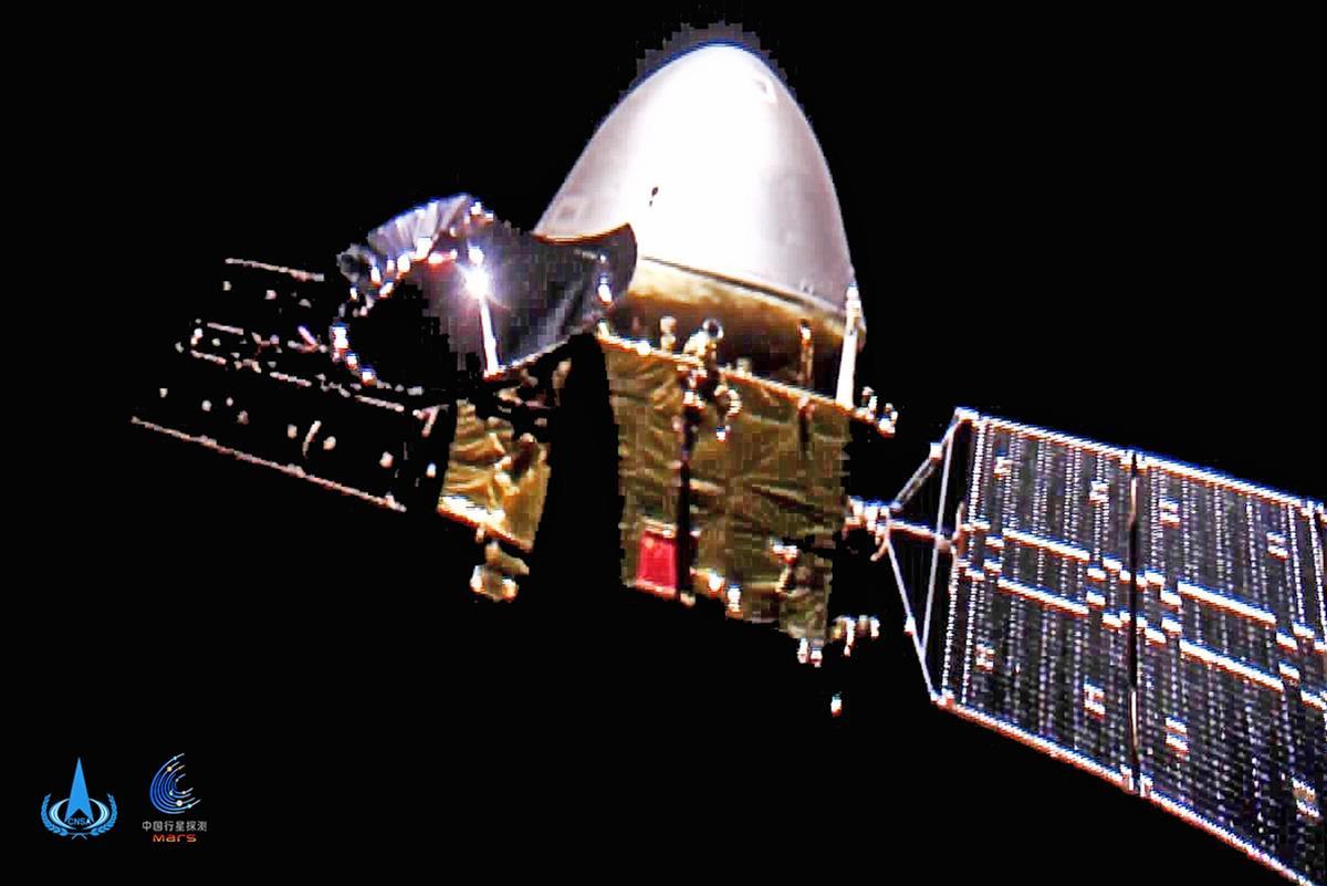 中国の無人探査機が火星着陸に成功 旧ソ連、米国に次ぐ3カ国目…