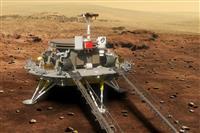 中国の火星探査車、走行準備進める