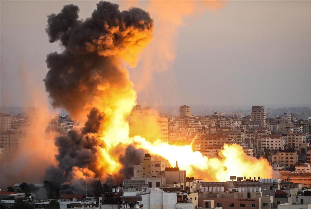 イスラエル・ハマス攻撃の応酬続く 「ナクバ」で衝突激化の懸念…