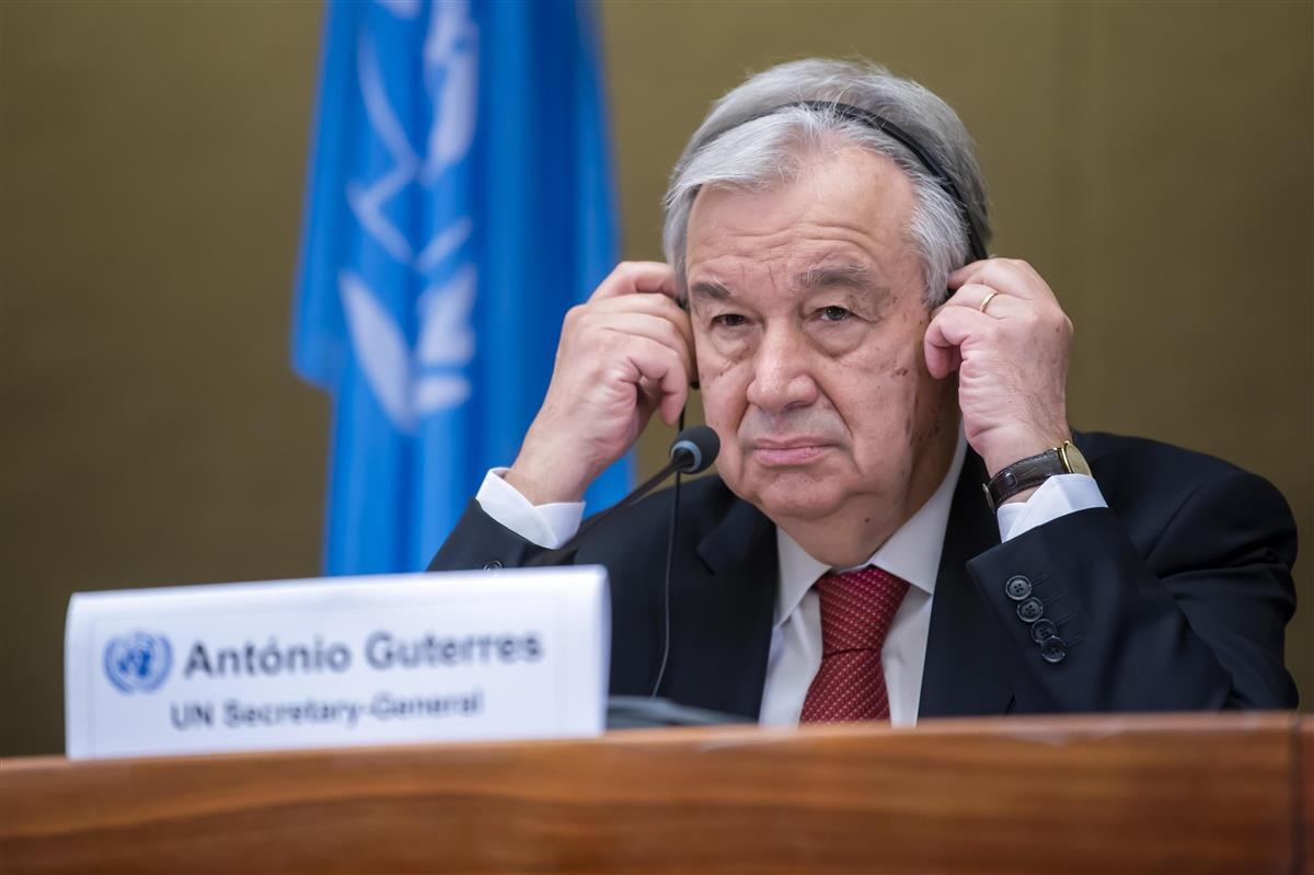グテレス国連事務総長(AP)