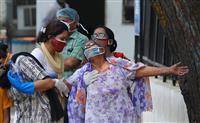 インド首都外出禁止、1カ月超 変異株猛威で1週間延長
