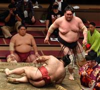 照ノ富士9連勝で首位維持 1敗消え、2差に5人 大相撲夏場所