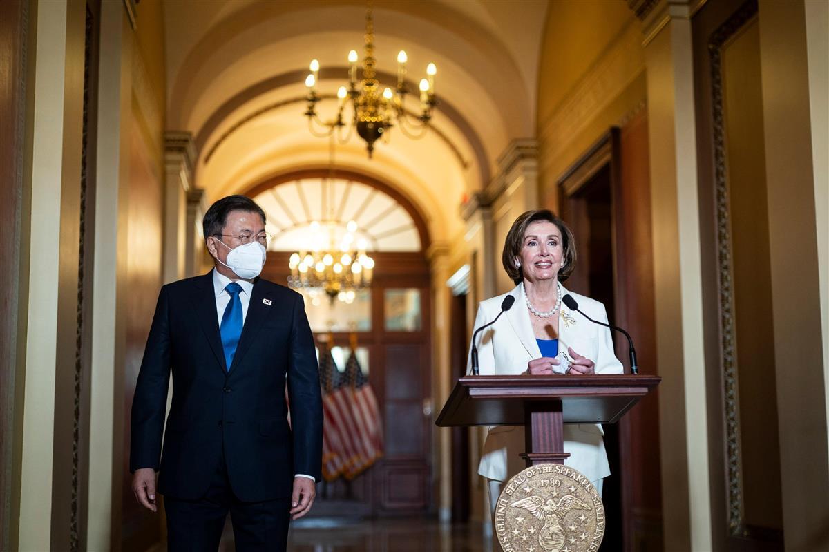 米下院議長が文氏との会談で慰安婦決議をアピール 大統領府発表に混乱も