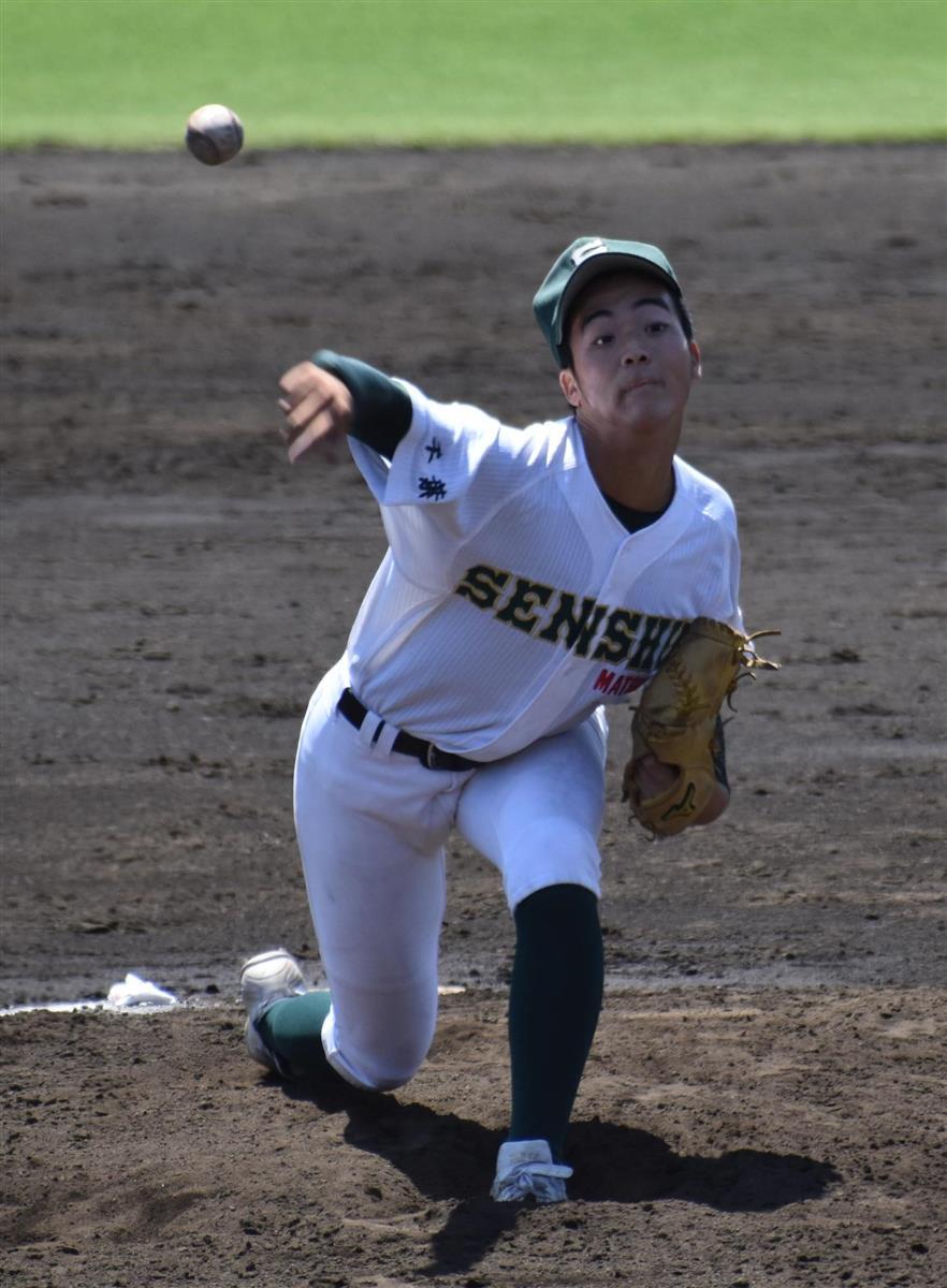 春季関東高校野球 優勝の専大松戸、先発の中舘宙投手 ボールボーイから決勝先発に