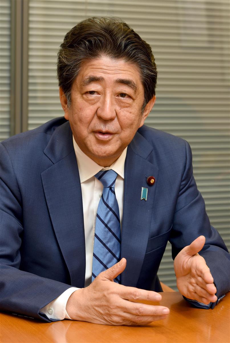 安倍前首相「菅政権支える」 自民議連会合で再び強調