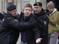 欧米の批判に耳貸さず 記者拘束のベラルーシ、強権を加速
